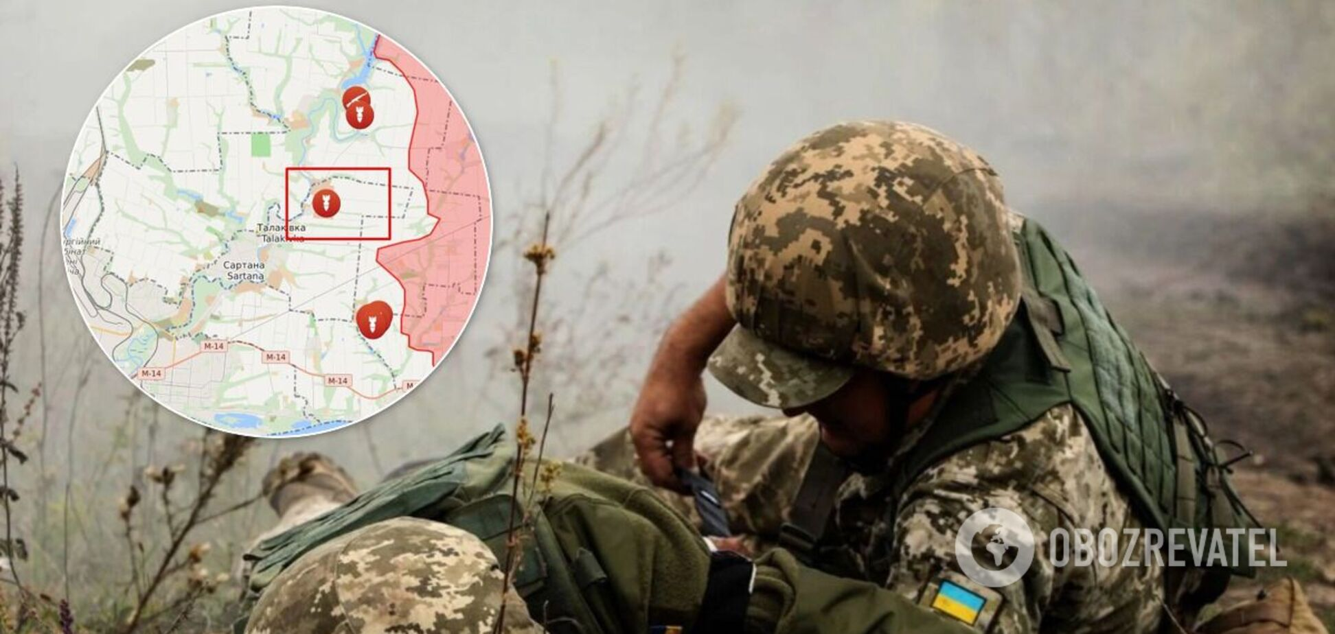 Терористи поранили українського військового на Донбасі