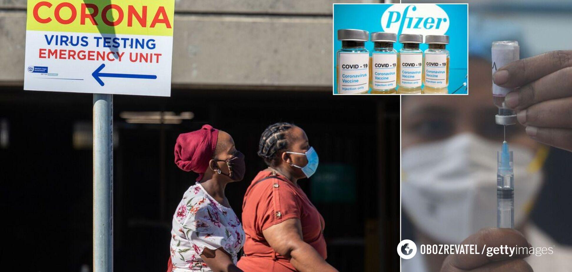 Африка отримала сотні мільйонів доз вакцин проти COVID-19