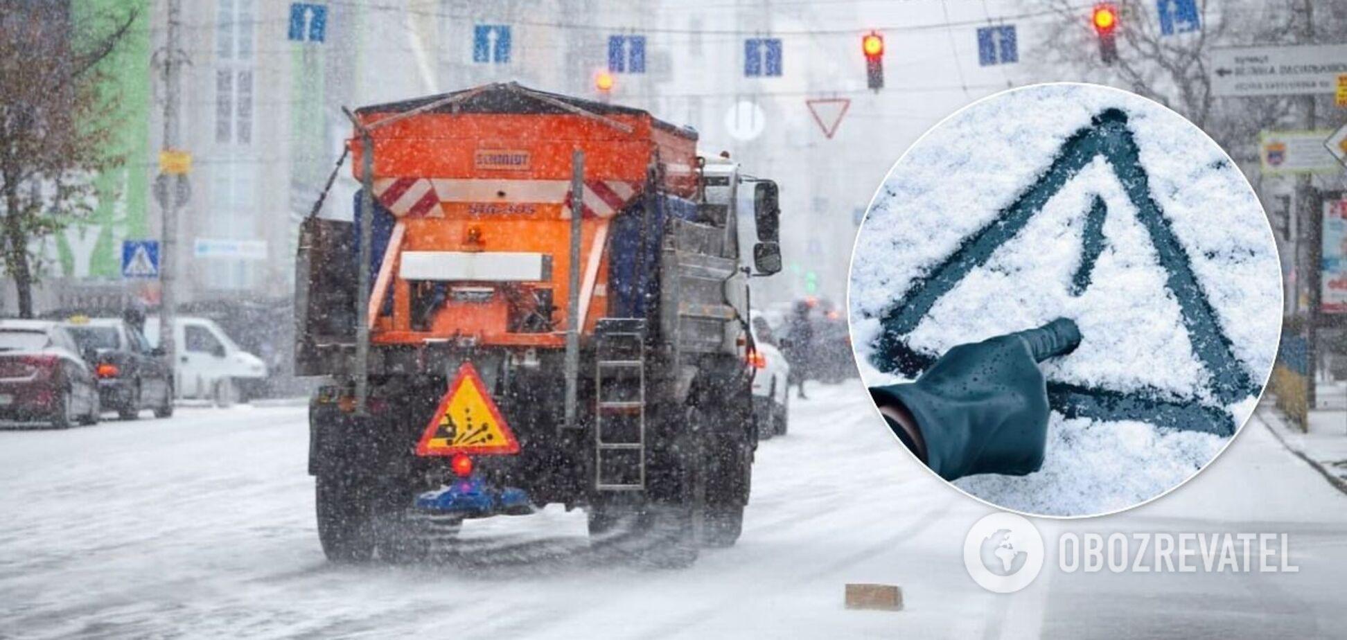 Киевавтодор проведет превентивную обработку улиц