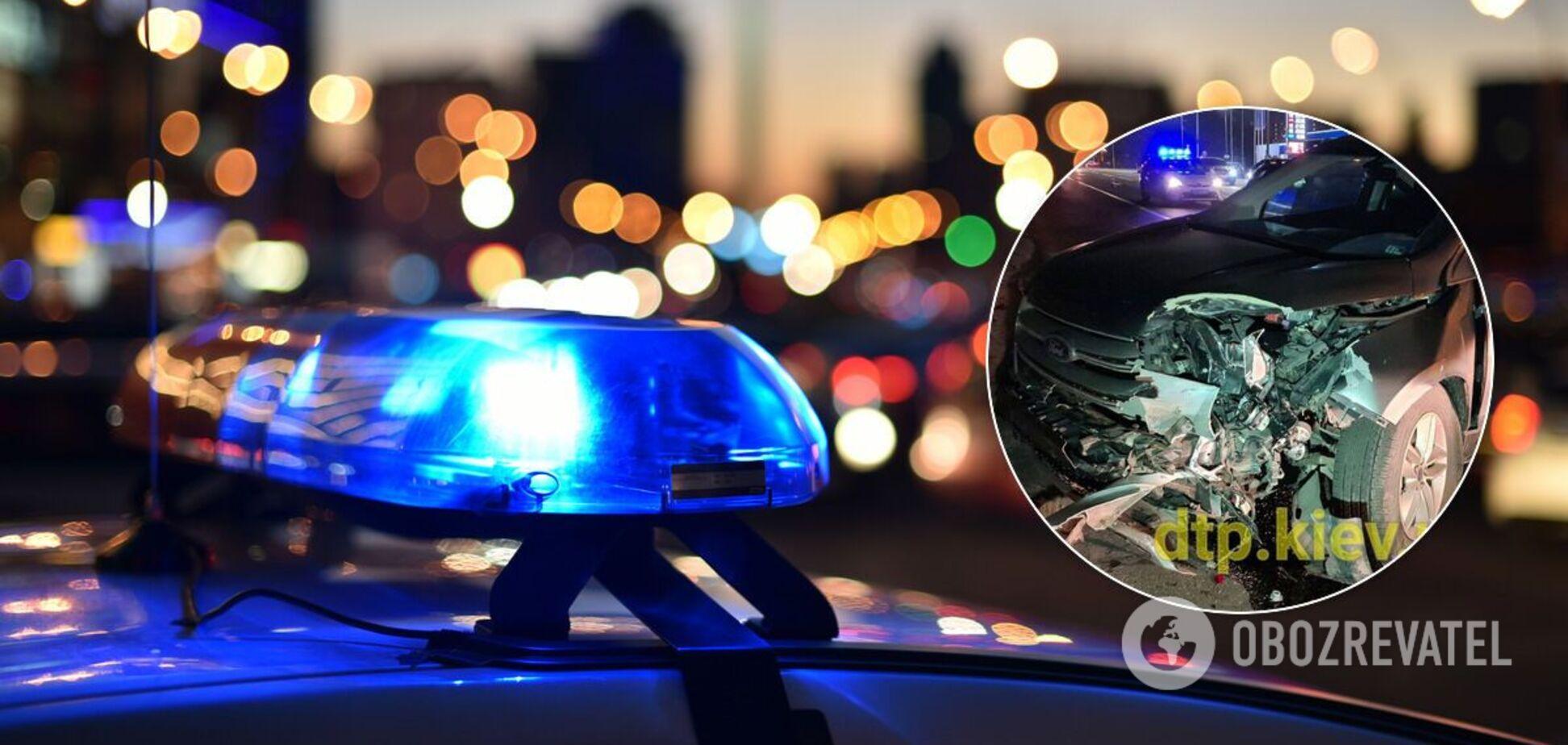 В результате ДТП пострадала патрульная полицейская