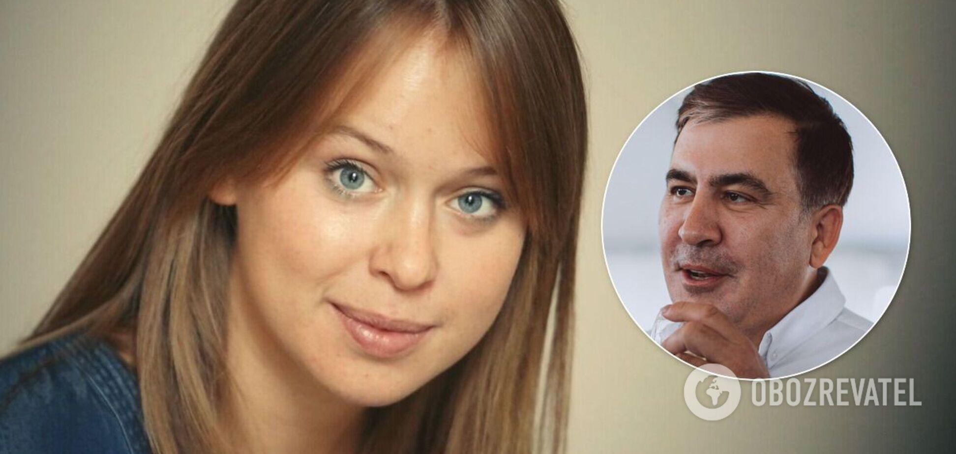 Ясько после слухов о романе с Саакашвили прокомментировала их совместное фото