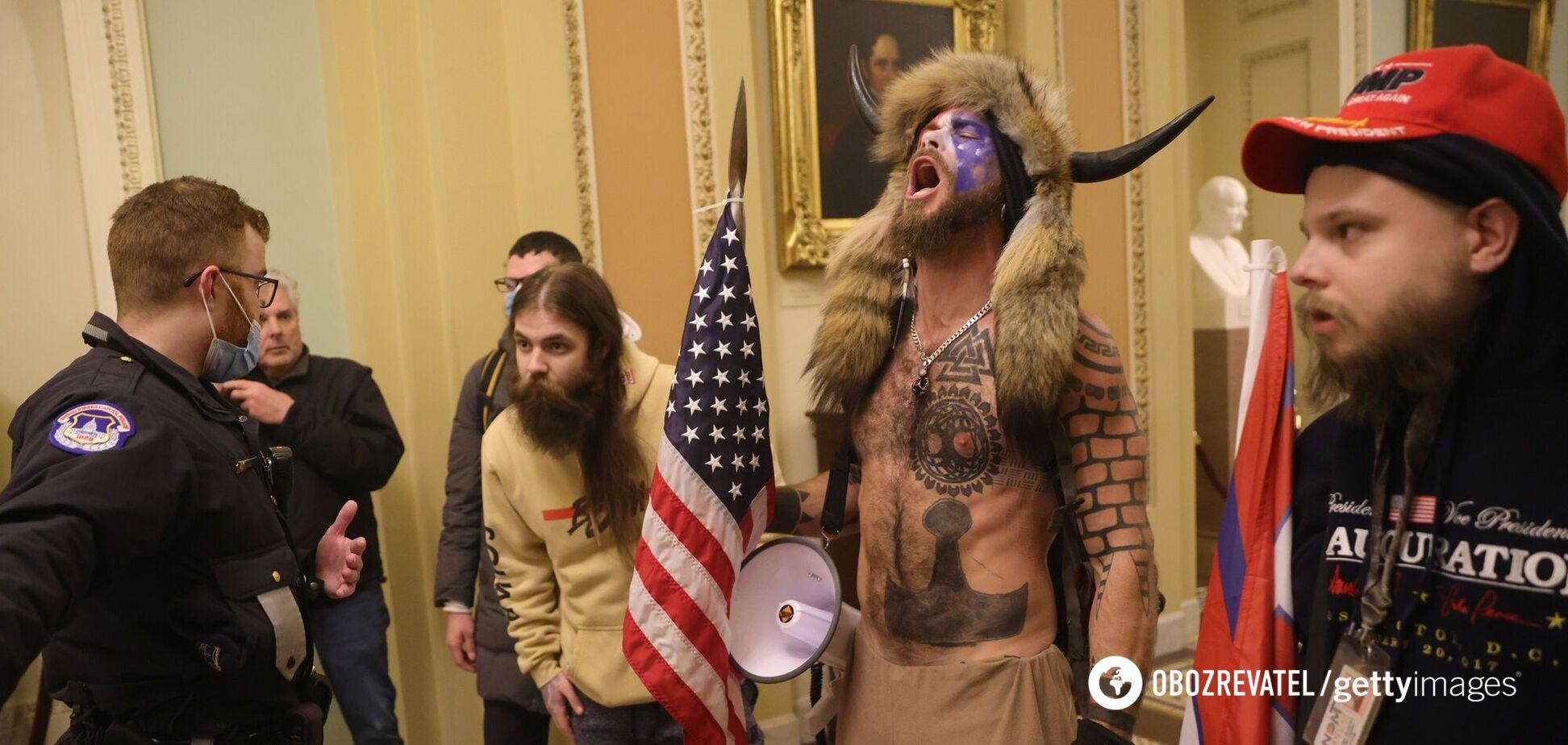 В сети распространили фейковое предсказание из 'Симпсонов' о штурме Капитолия США. Фото