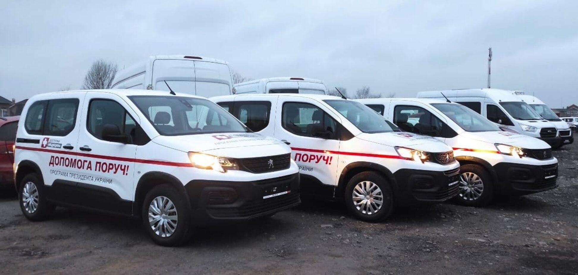 Українські медики їздитимуть на Peugeot
