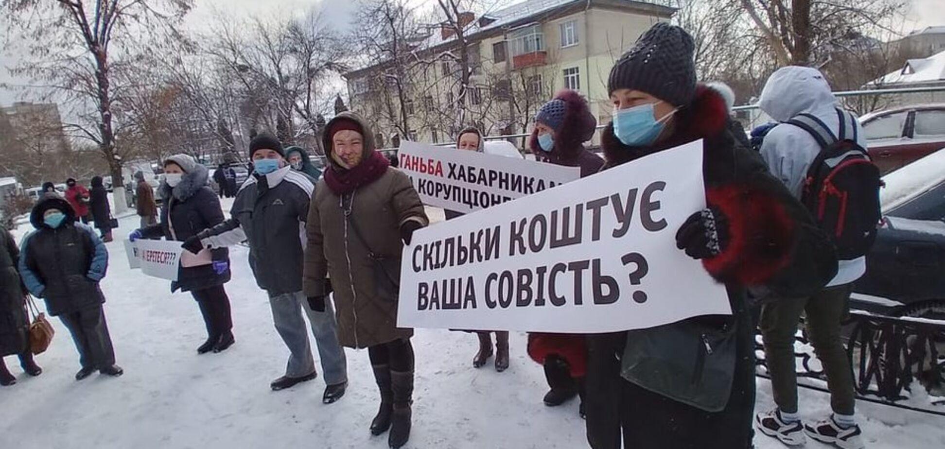 Акція протесту в Житомирі