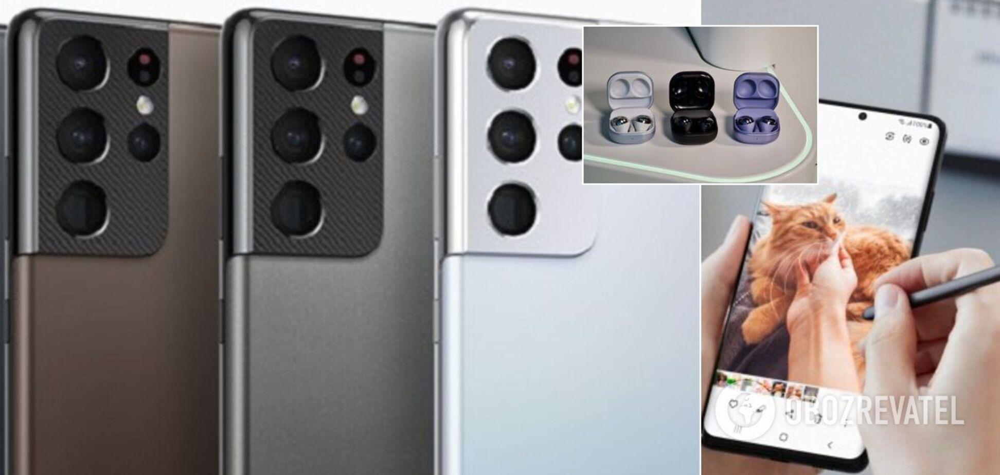 Samsung презентував нові смартфони