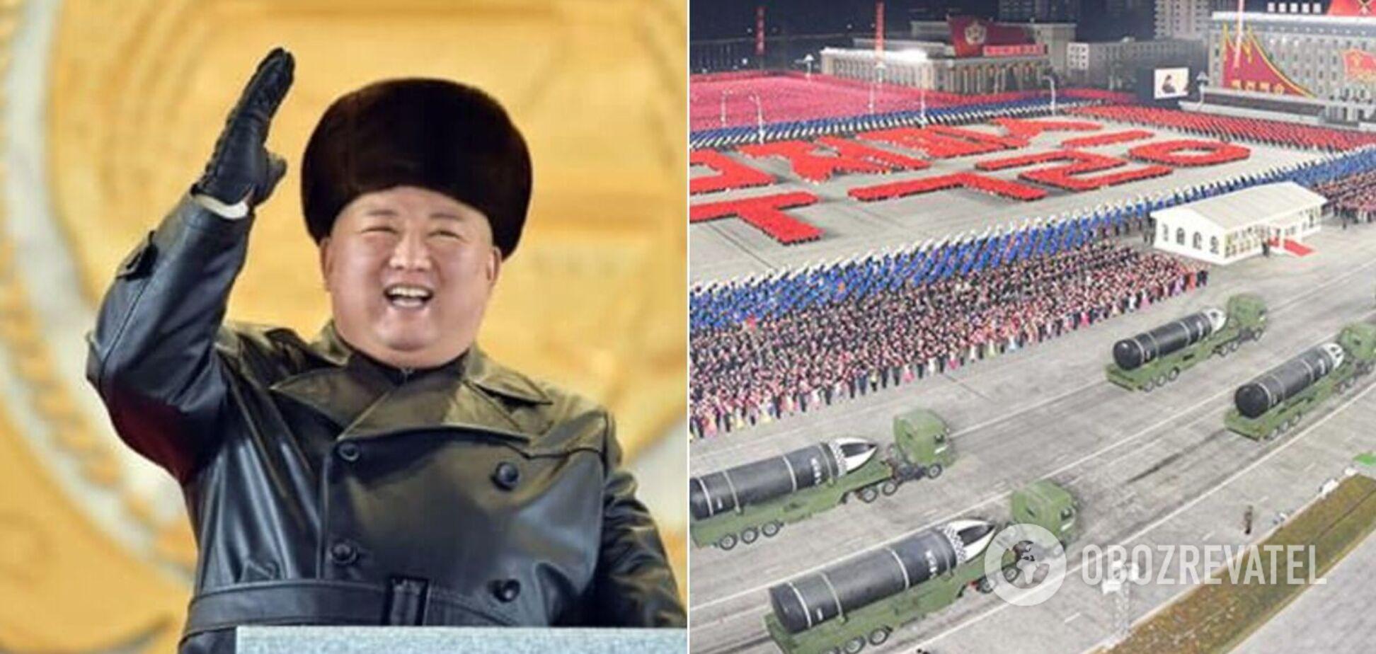 Кім Чен Ин прийняв парад