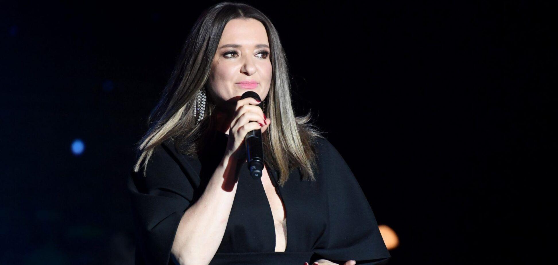 Могилевская похвасталась концертом в Буковеле и показала обнаженное фото из Карпат