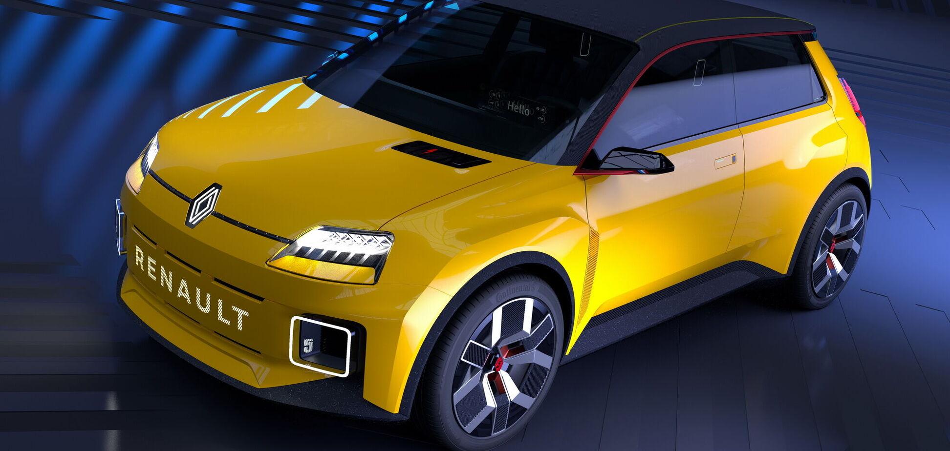 Renault показала наследника легендарной Renault 5