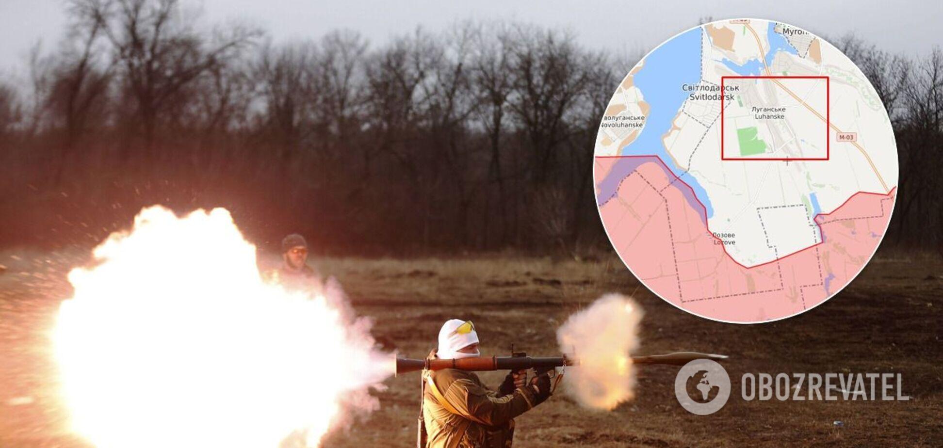 Терористи відкрили вогонь по ЗСУ з РПГ