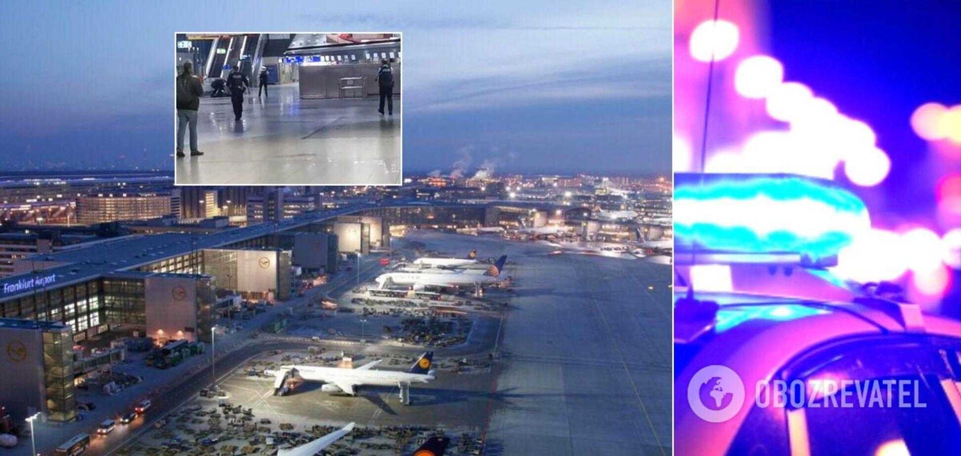 В аэропорту Франкфурта проводили спецоперацию