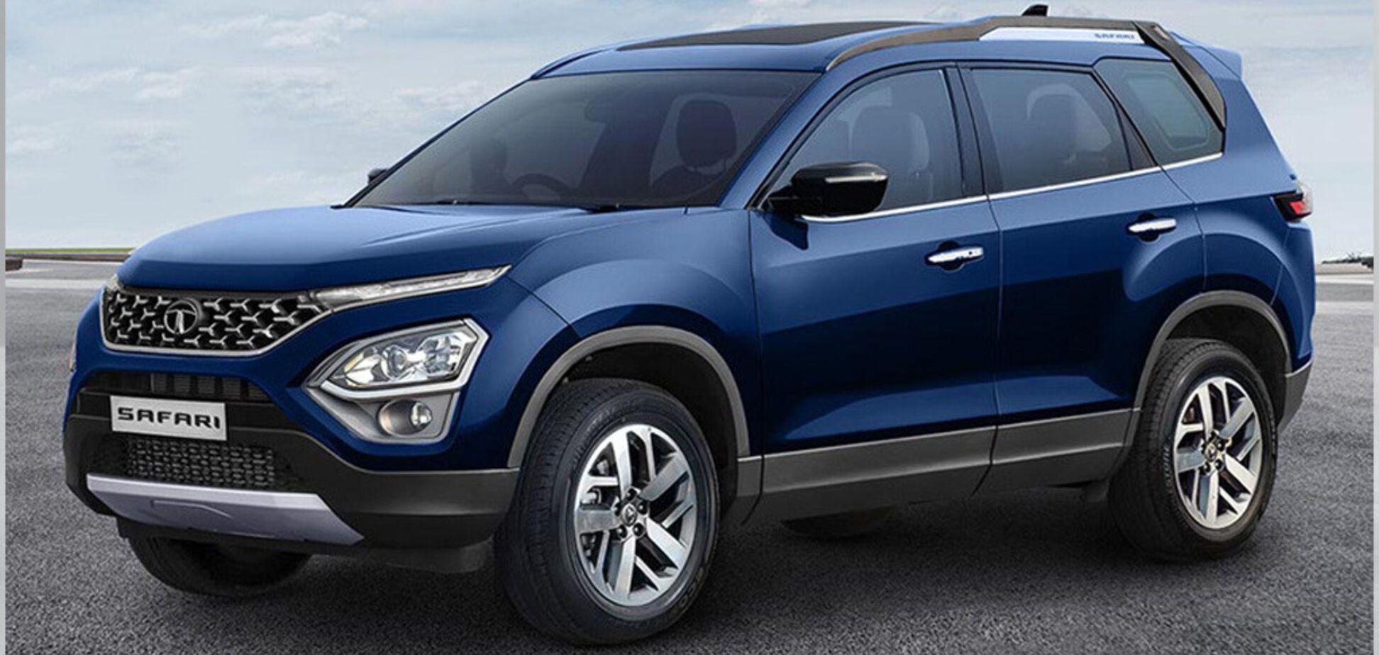 Tata презентувала новий 7-місний позашляховик