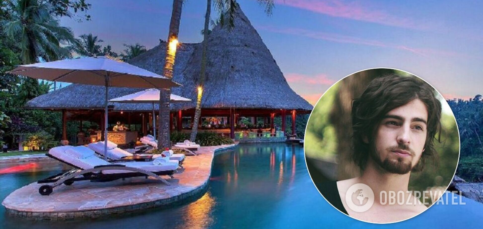 Дантес поделился странностями отдыха на Бали