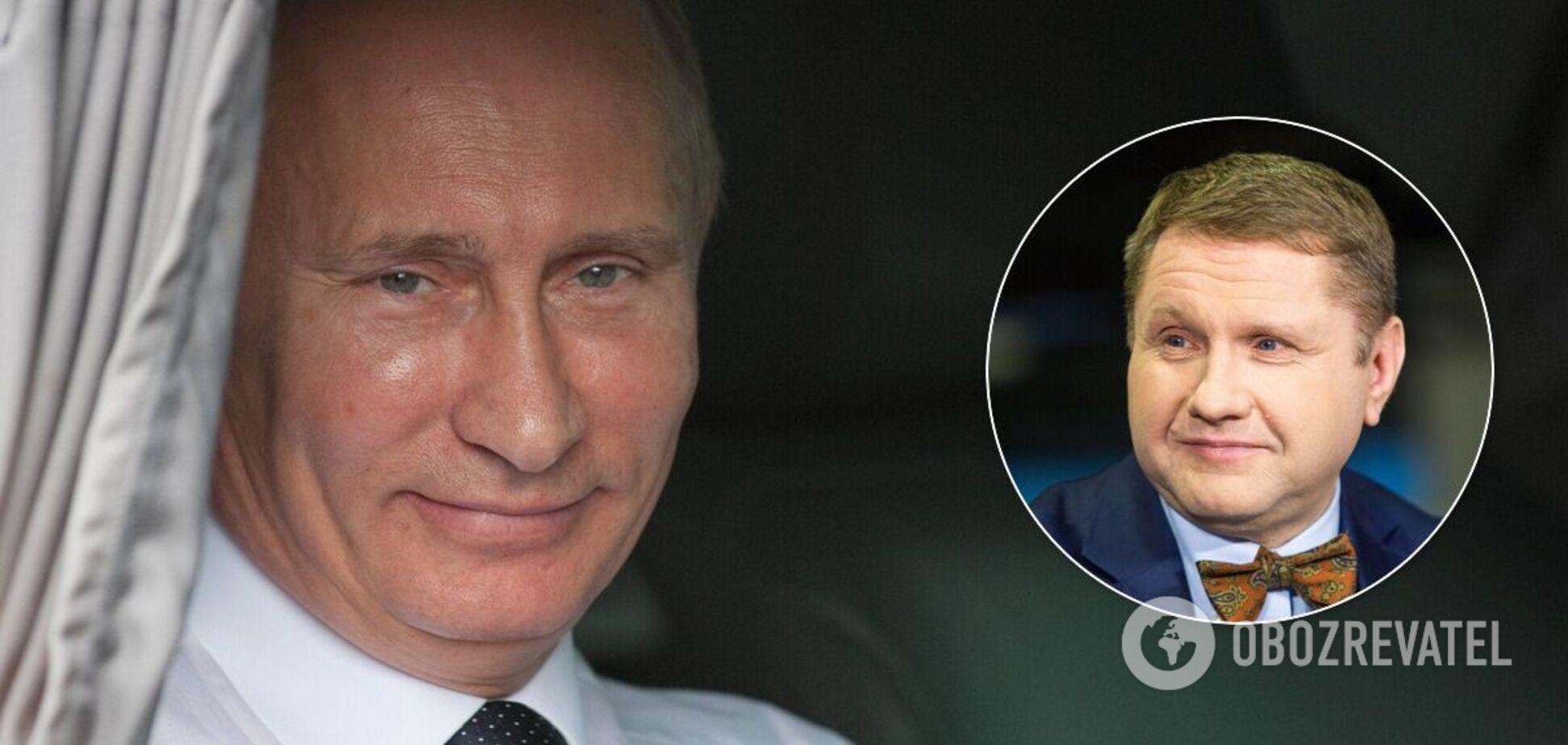 Эггерт не думает, что Путин будет чувствовать себя спокойно, уйдя с поста президента