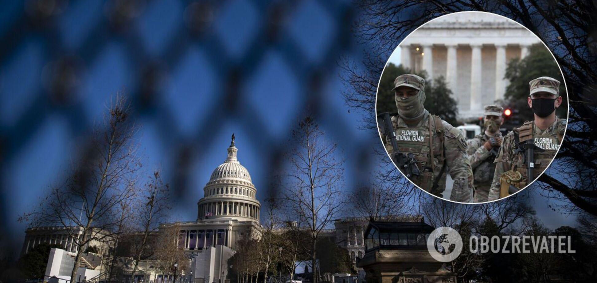 В Вашингтоне усилили меры безопасности перед инаугурацией Байдена