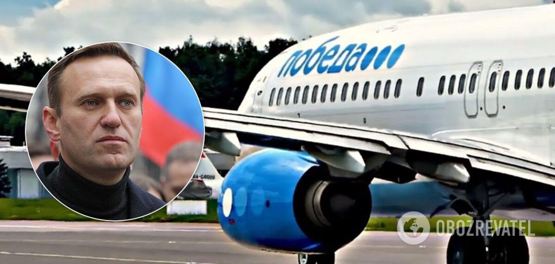 Літак з Навальним вилетів до Москви