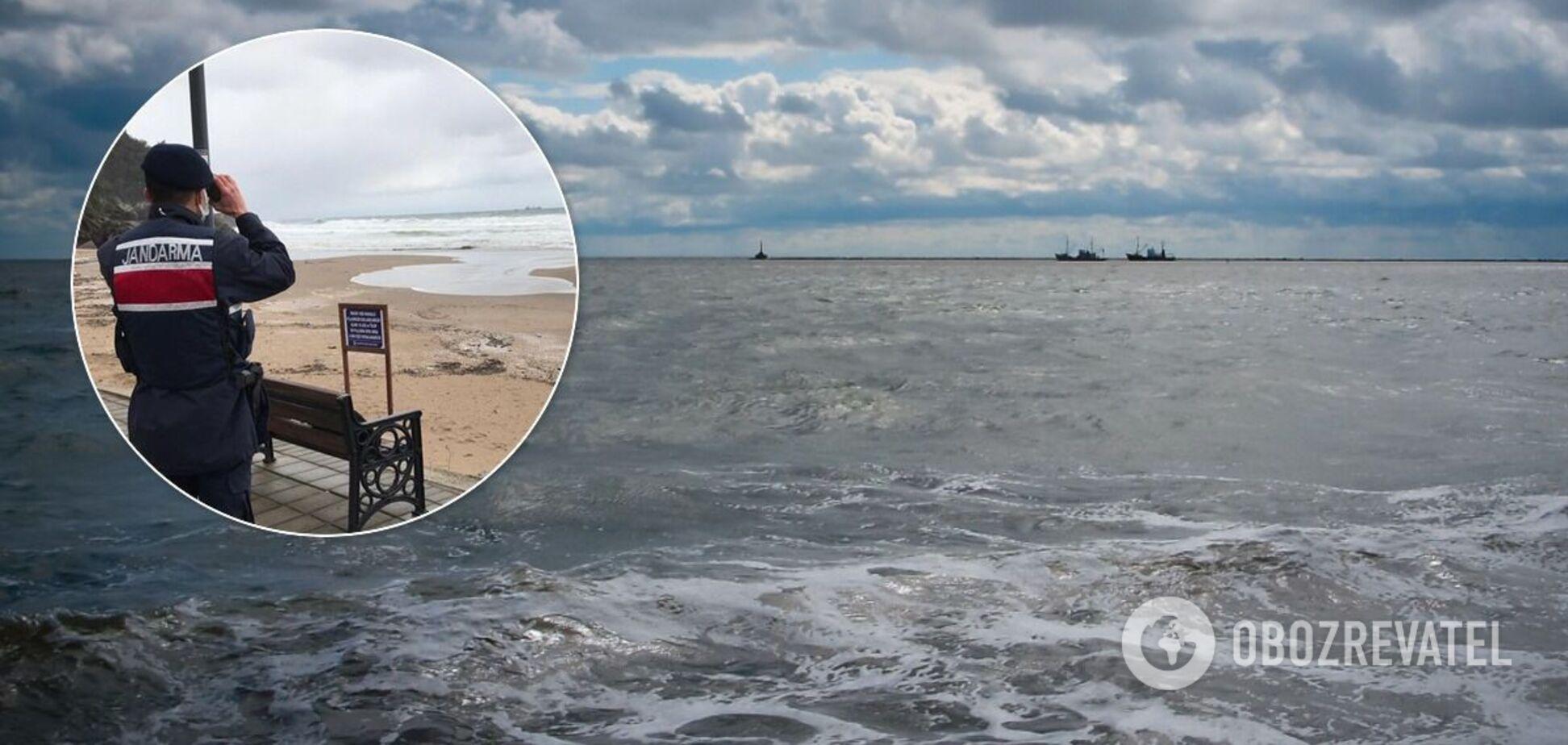 Сухогруз затонул у берегов Турции