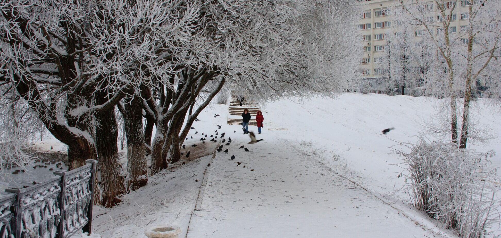 Мороз 18 января охватит всю Украину