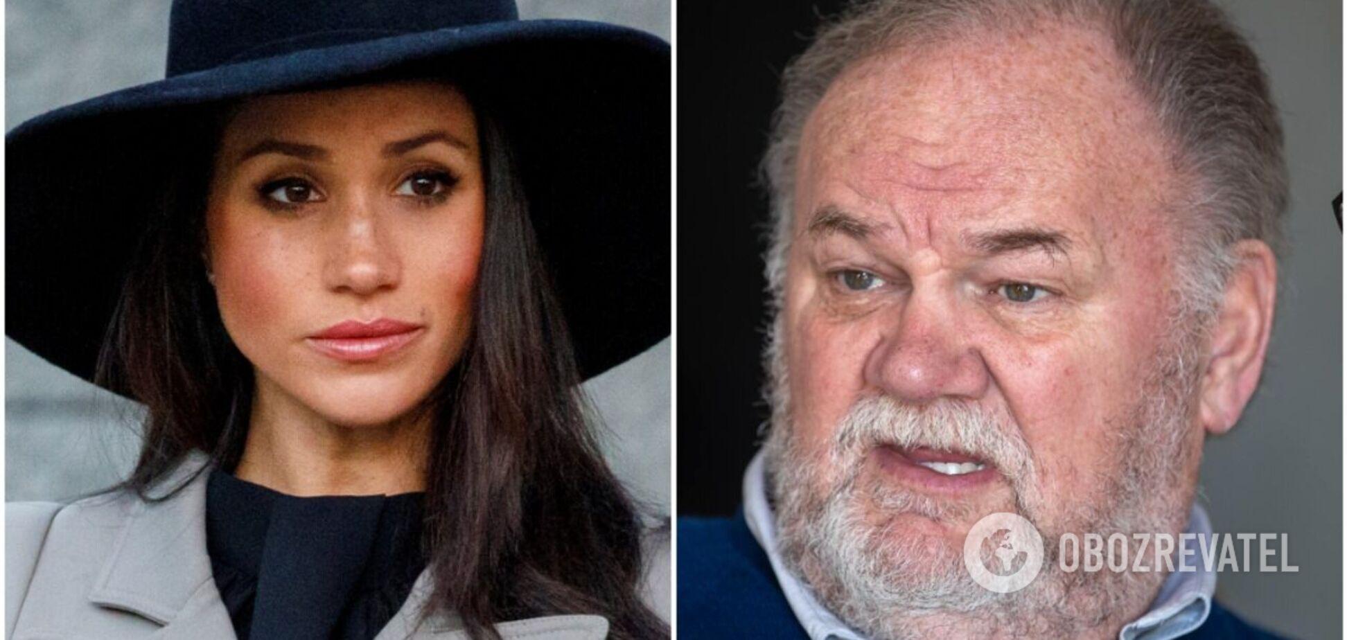 Отец Меган Маркл задумал снять фильм о своей жизни с дочерью