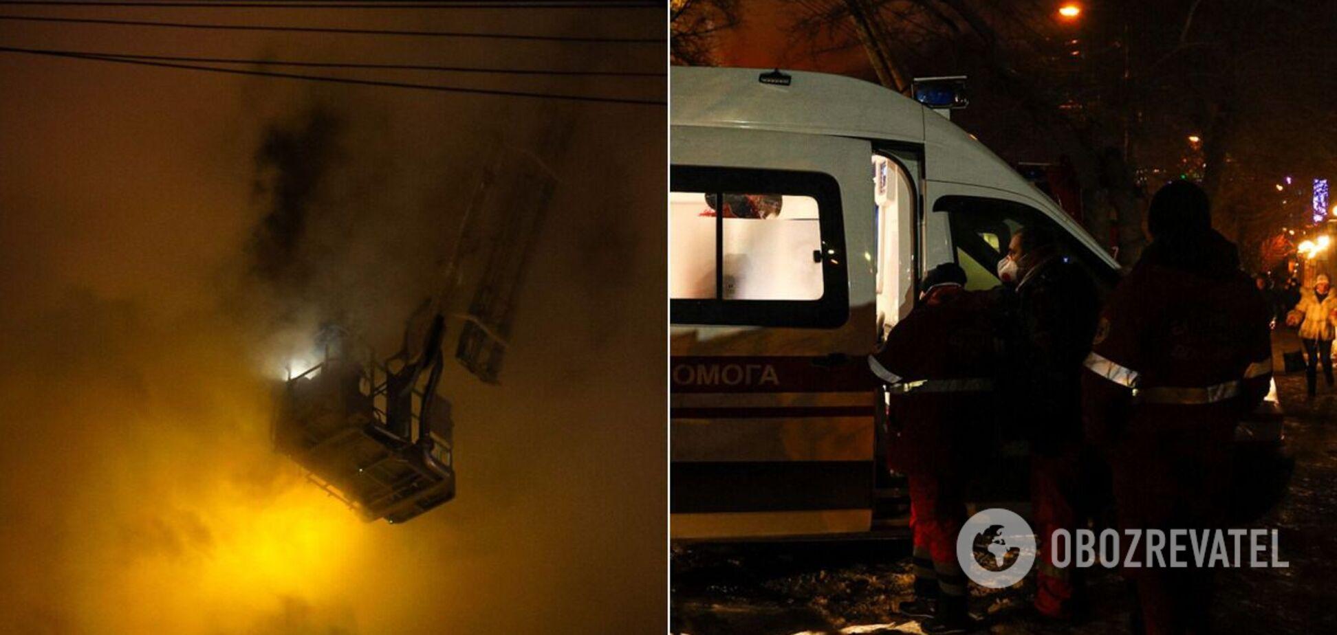 В Одесі сталася пожежа в готелі