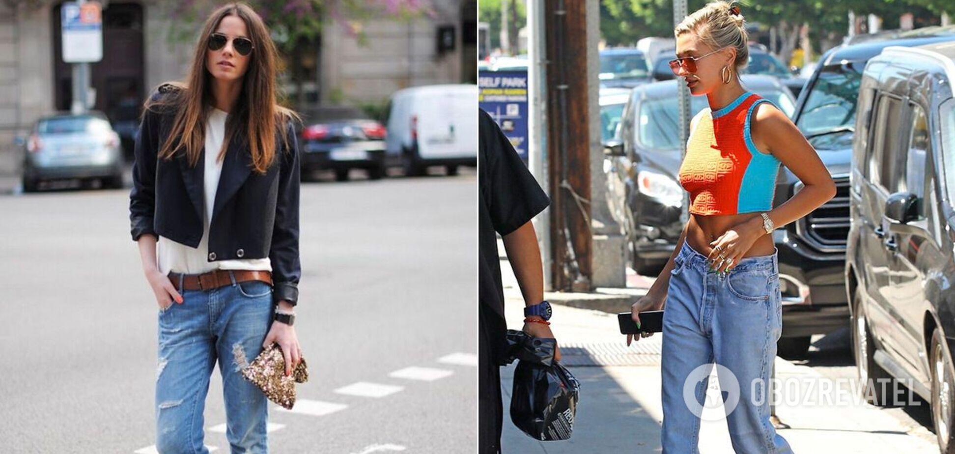 С чем носить тренд из 2000-х джинсы с низкой посадкой: топ-3 вариантов