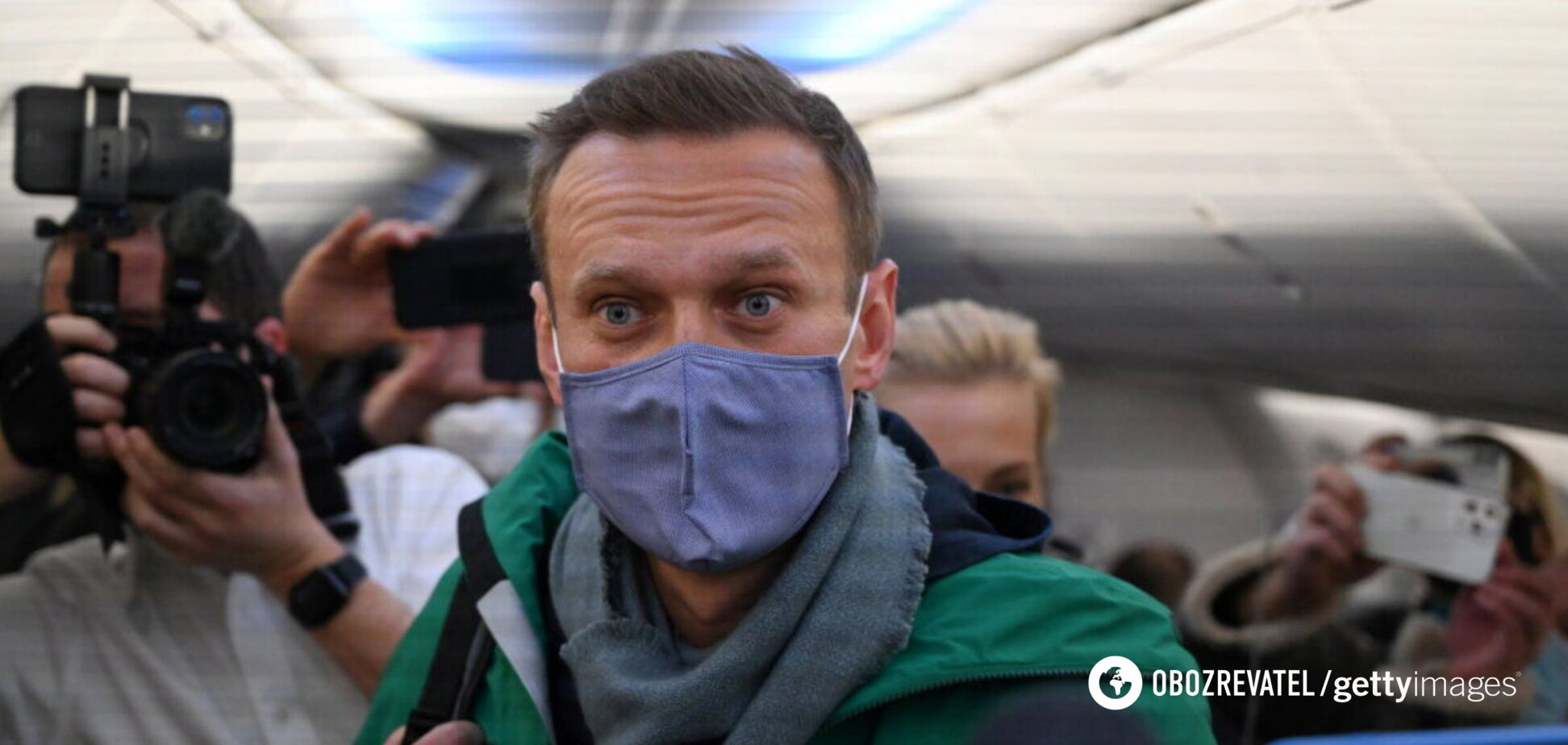 Навального арестовали