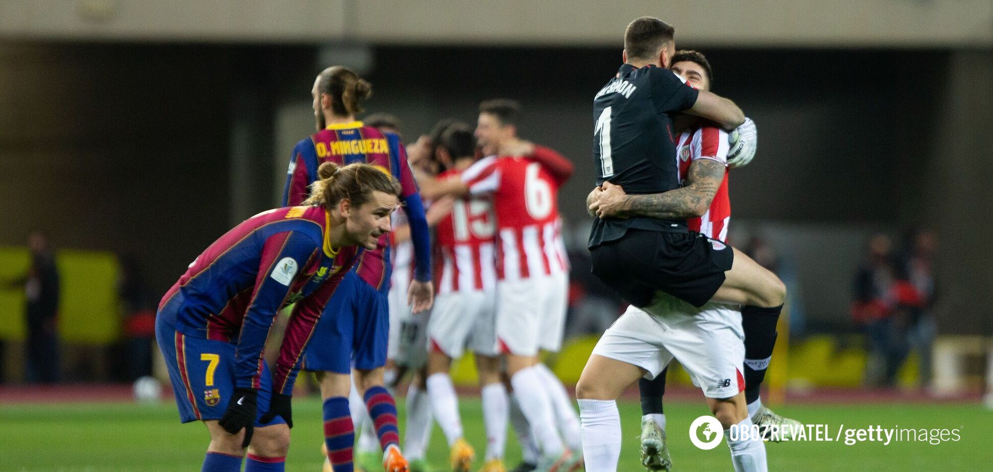 'Барселона' - 'Атлетик'