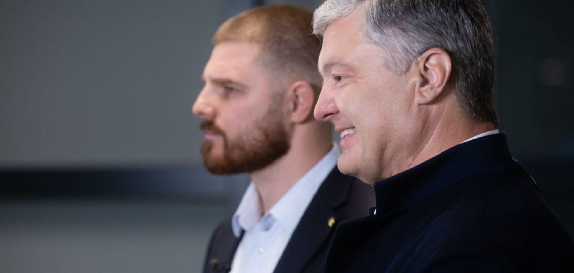 Порошенко привітав Володимира Борисенка з перемогою на виборах мера Борисполя