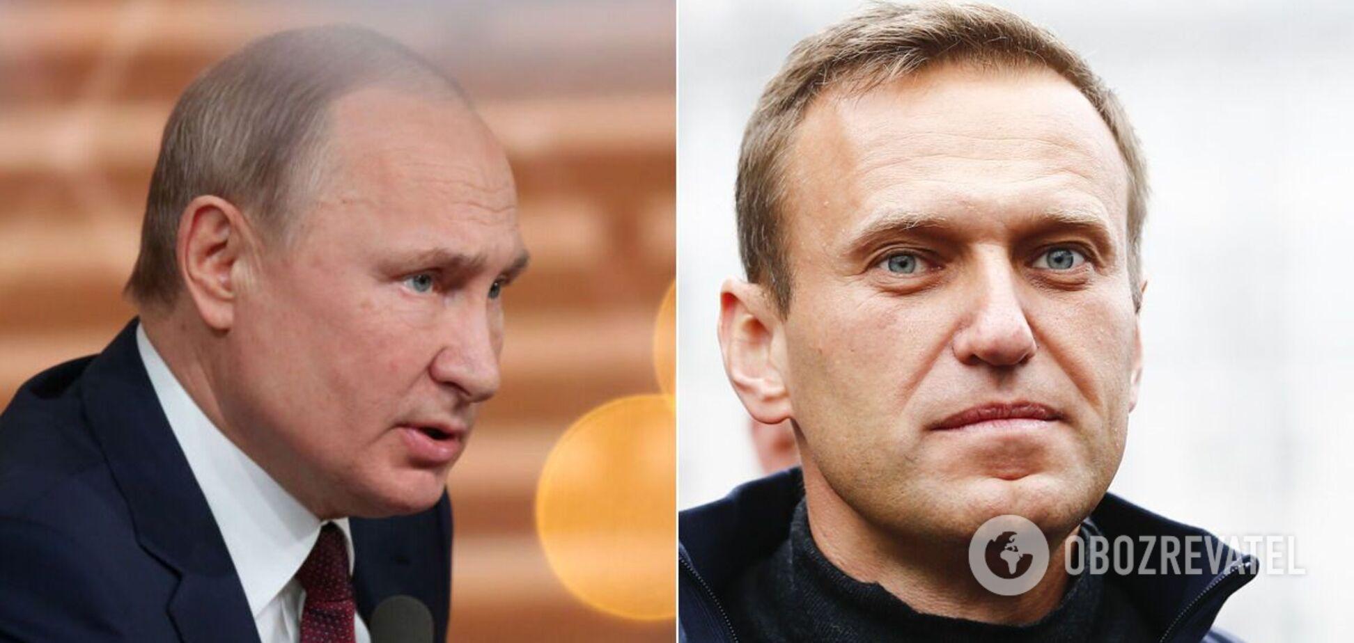 А может, Навальный и есть тот самый 'преемник' Путина?