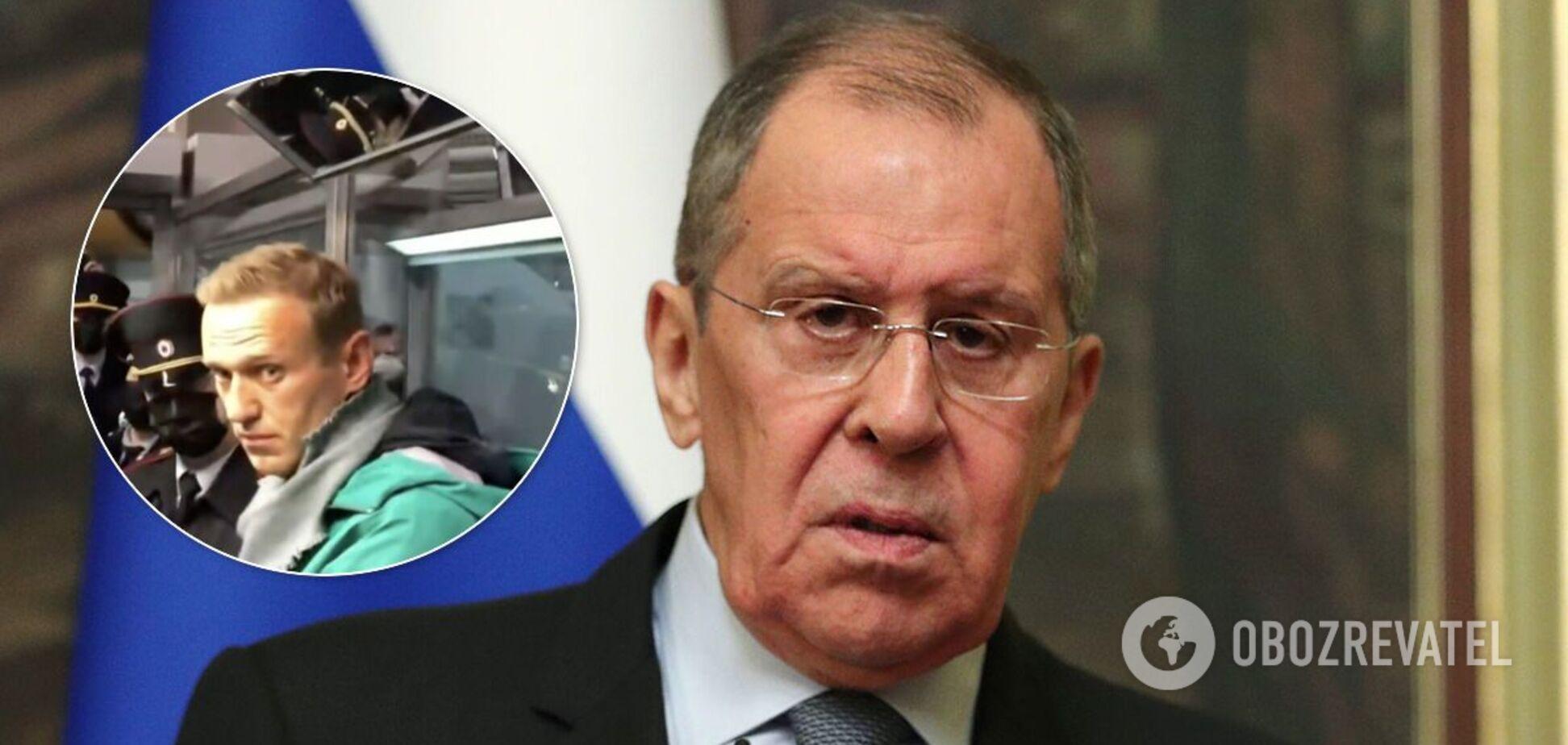 Лавров ответил на заявления Запада о Навальном и назвал немцев 'хамами'