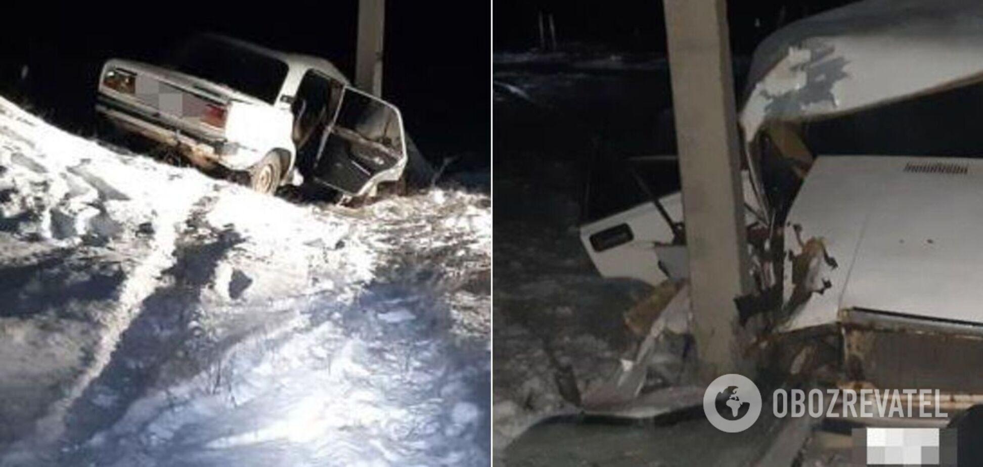 На Харьковщине в пьяном ДТП погибла беременная. Фото