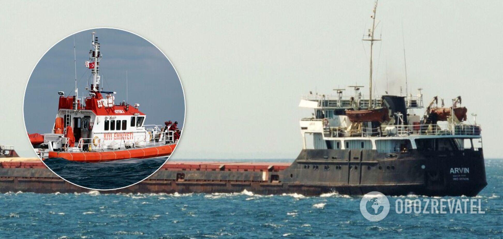 Суховантаж затонув біля берегів Туреччини
