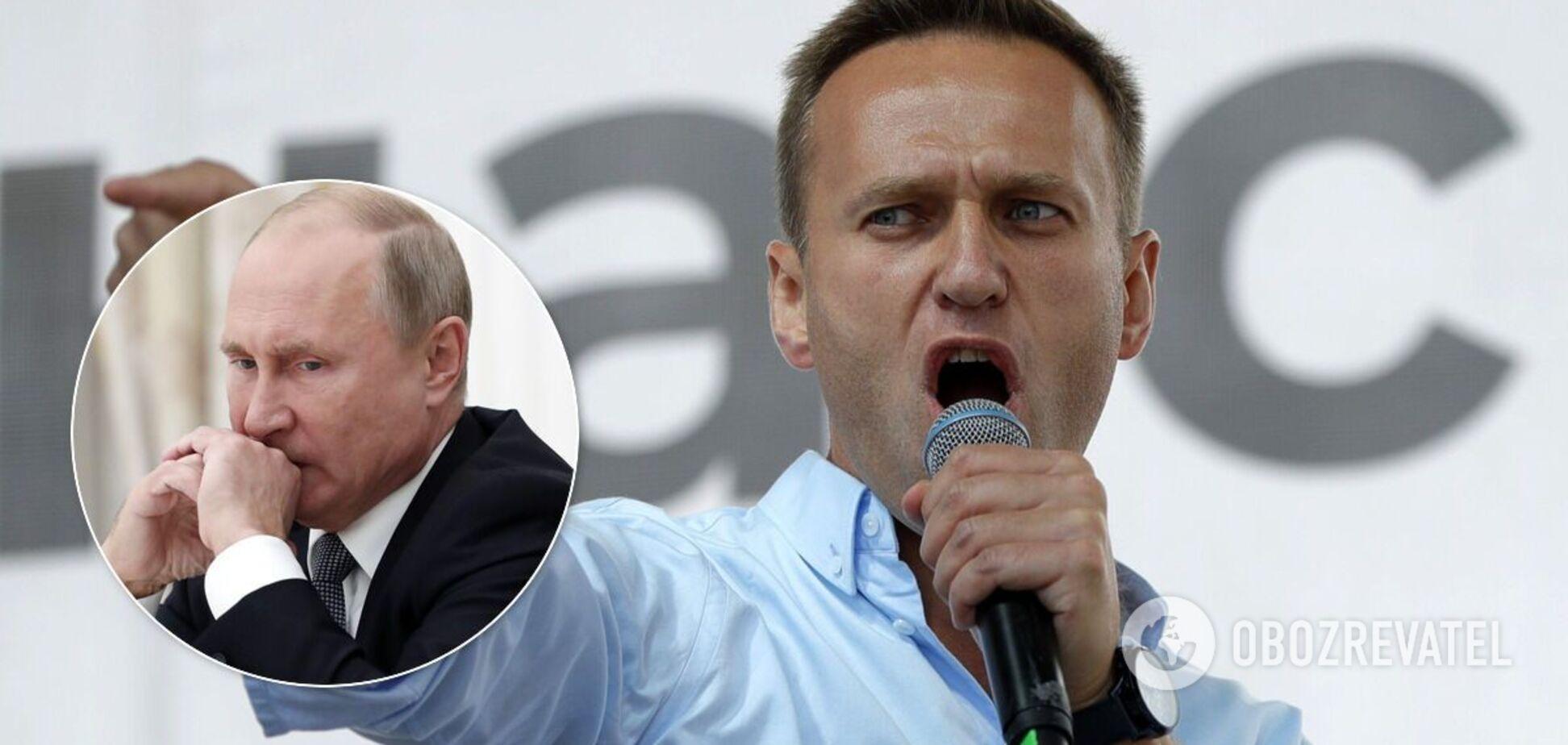 Заарештований Навальний назвав Путіна жабою та закликав росіян виходити на вулиці. Відео