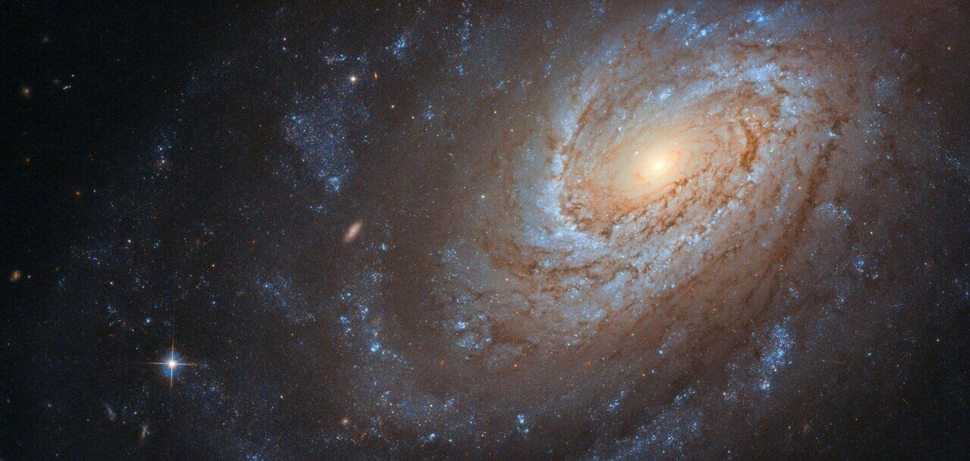 Галактика в нічному небі