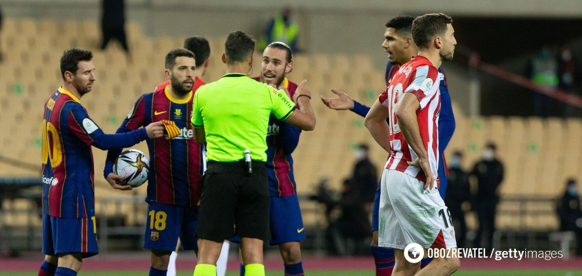 Гравці 'Барселони' намагаються оскаржити вилучення Мессі