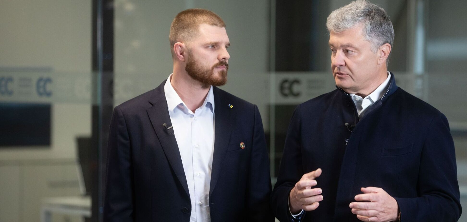 Порошенко привітав Борисенка з перемогою на виборах