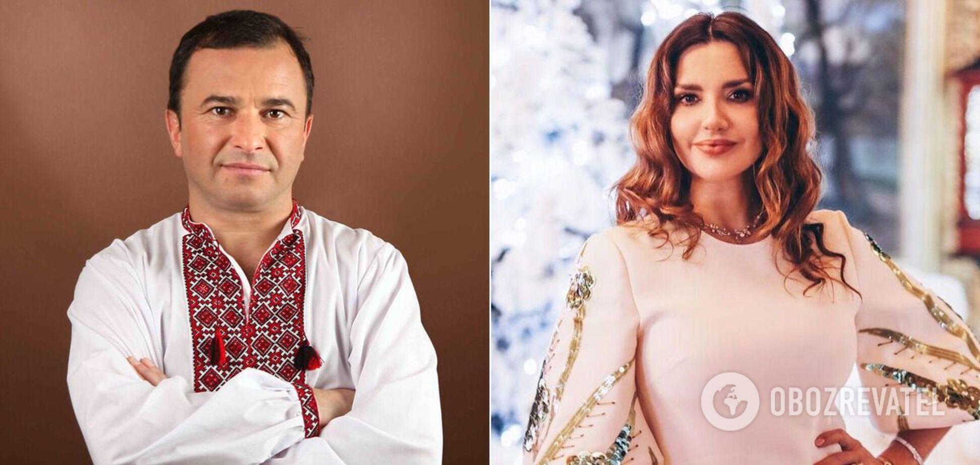 Виктор Павлик и Оксана Марченко