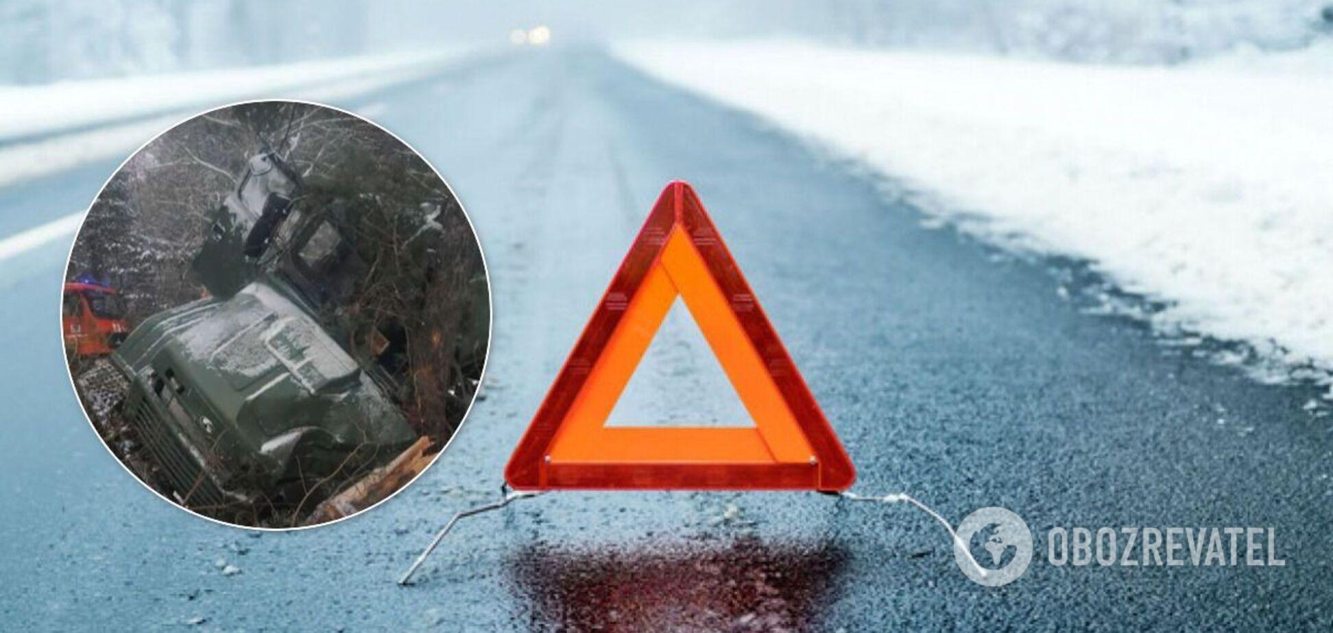 Аварія сталася на Яворівському полігоні