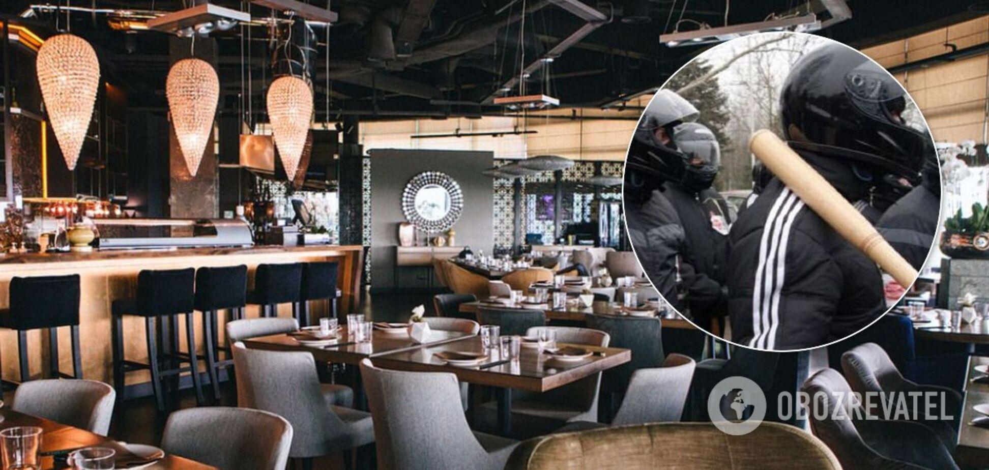 До Києва повернулися методи розбірок із 90-х: у центрі міста захопили ресторан Guramma Asia