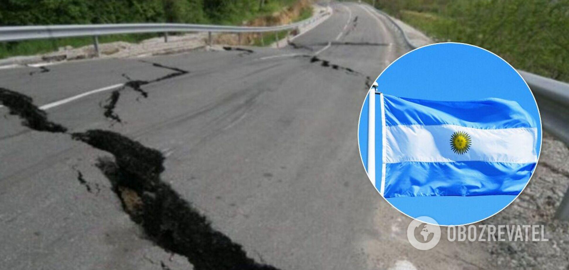 В Аргентине произошло мощное землетрясение: люди в панике покидали дома. Фото и видео