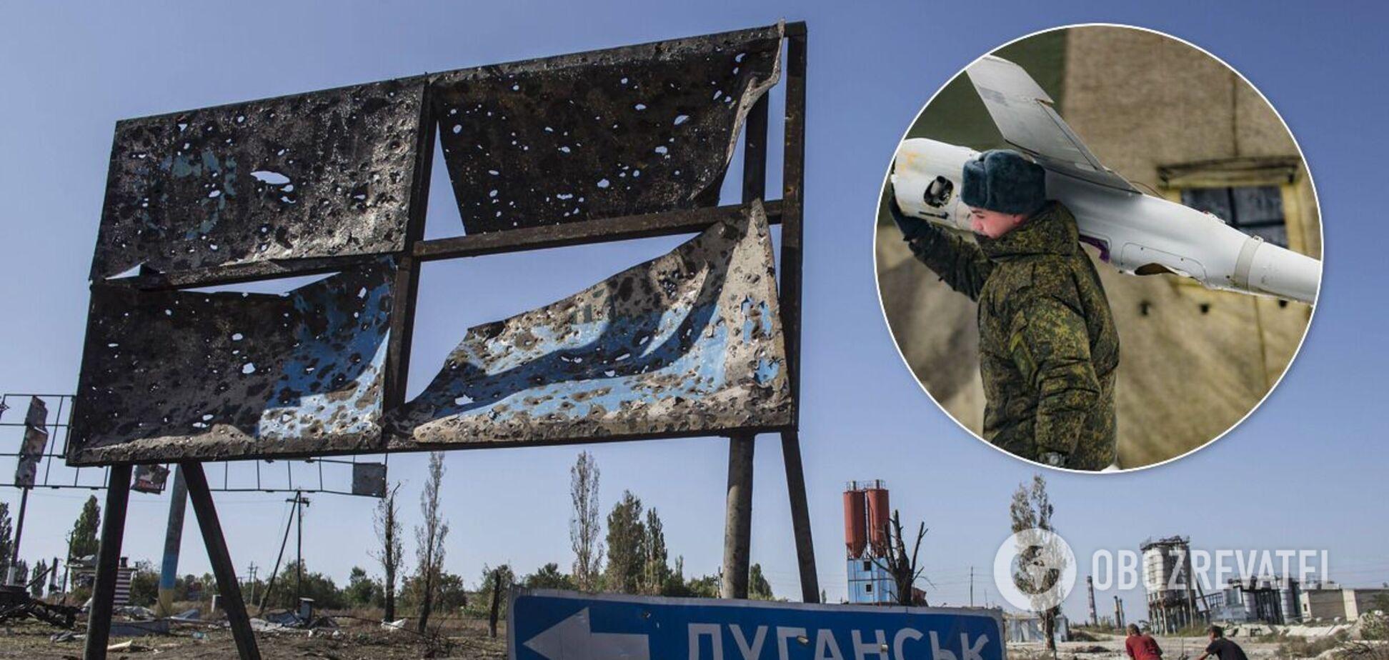 Безпілотники терористам на Донбас завезли на автомобілях
