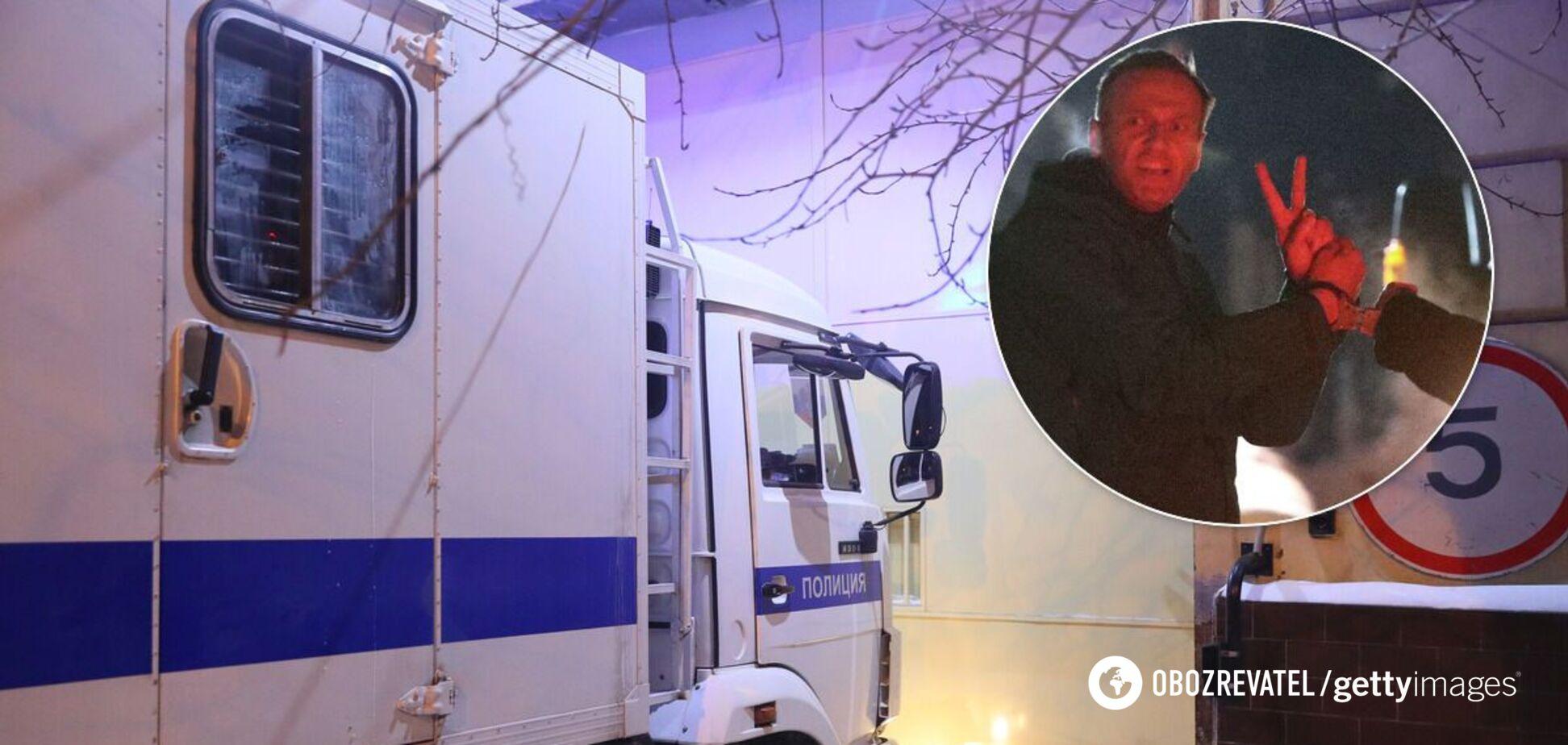Стало известно, где будет отбывать наказание Навальный