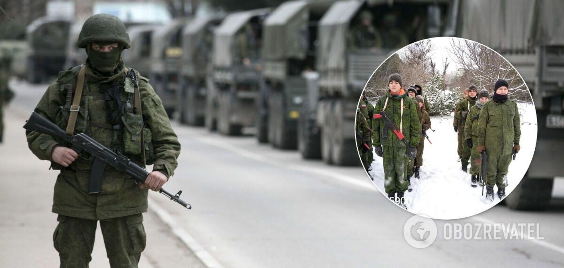 Військова пропаганда в Криму