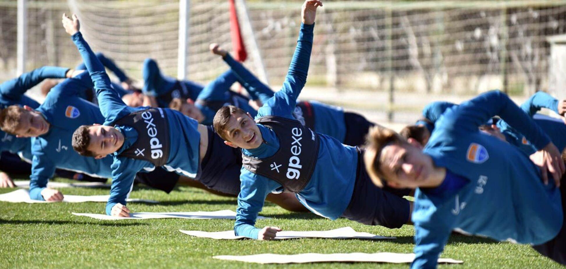 Футболісти 'Маріуполя' на зборах