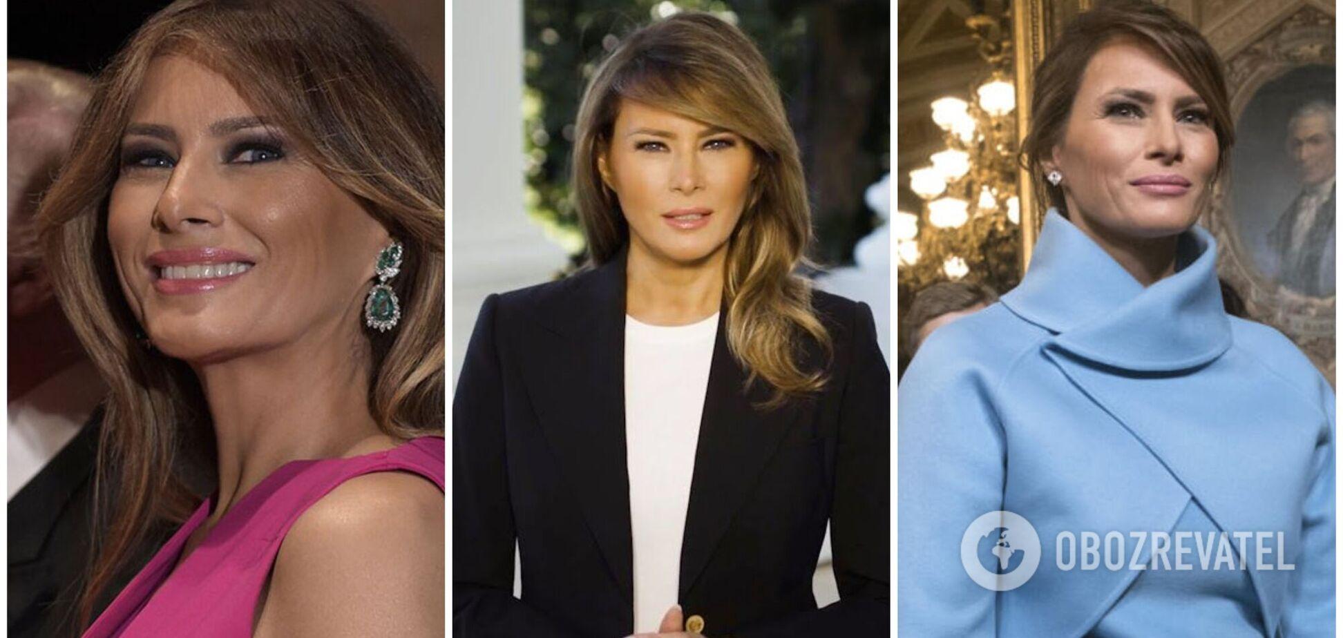 Стильні образи Меланії Трамп за час правління її чоловіка