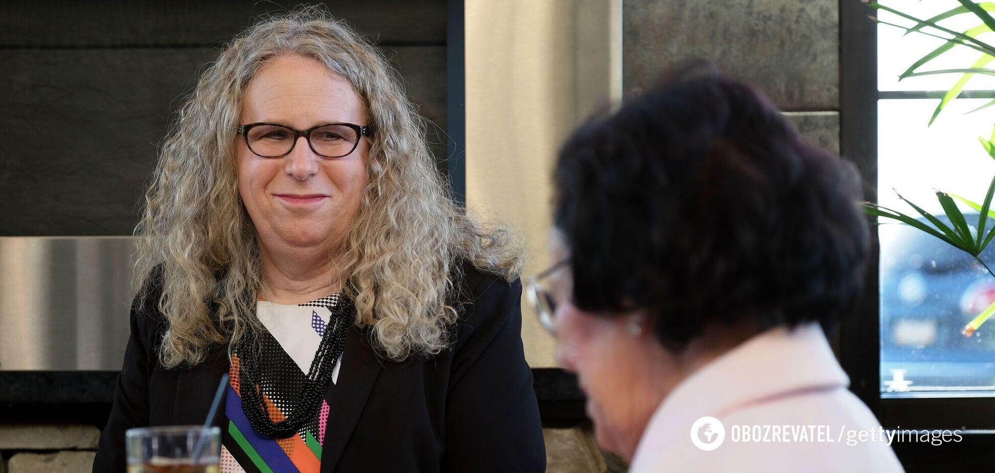 Рейчел Лівайн може стати першою у США федеральною чиновницею-трансгендеркою
