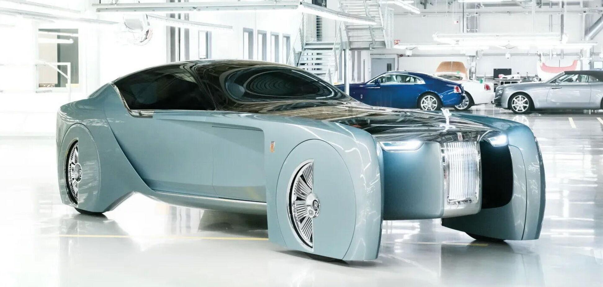 У Rolls-Royce готують перший серійний електромобіль