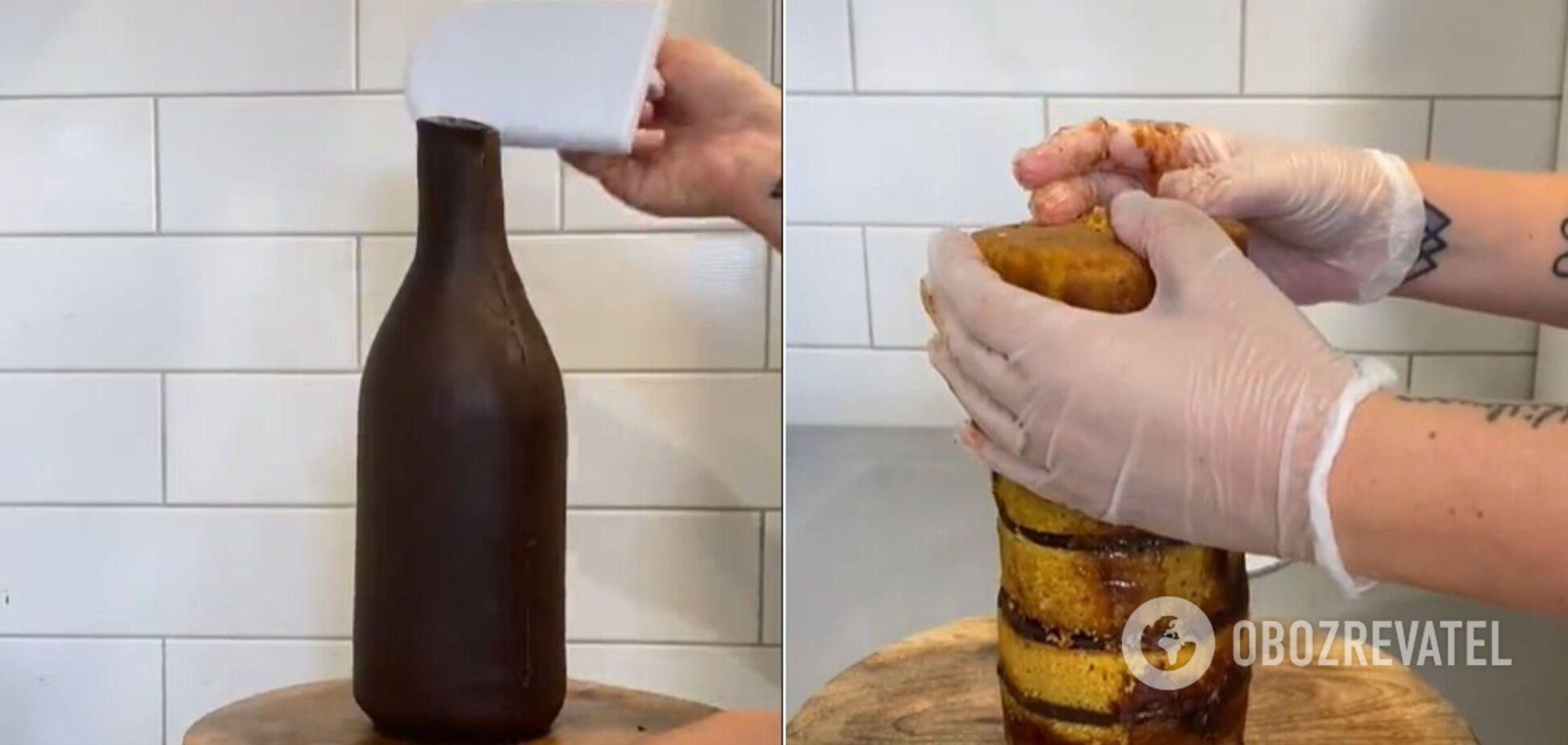 Торт-пиво миллионы людей назвали сладкой оптической иллюзией. Видео кулинарного шедевра
