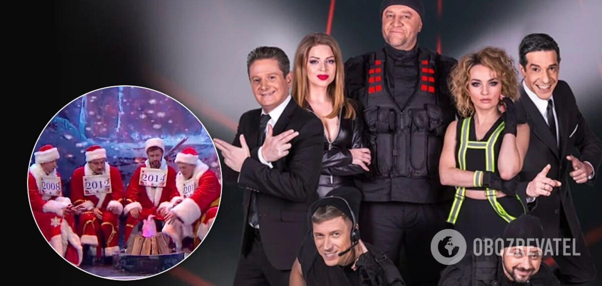 Новогодний номер 'Дизель шоу' обвинили в плагиате. Видео