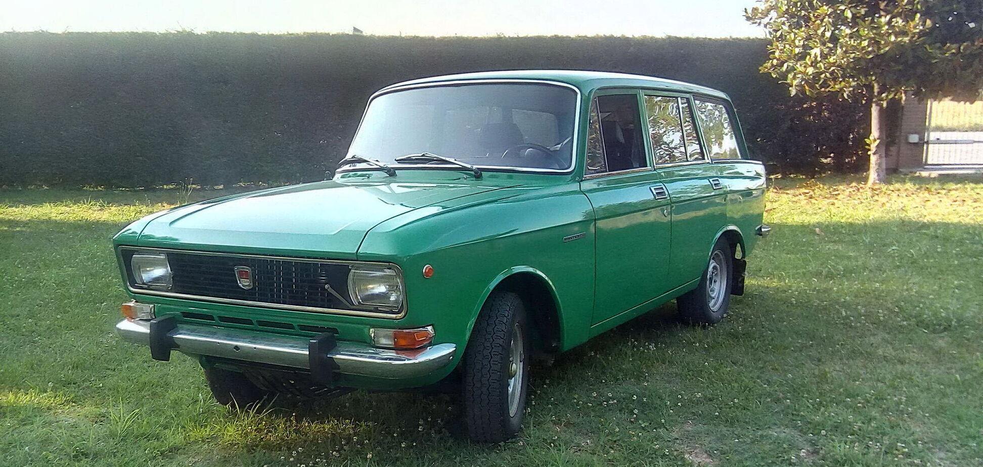 Старий 'Москвич' продають в Італії за ціною нового авто
