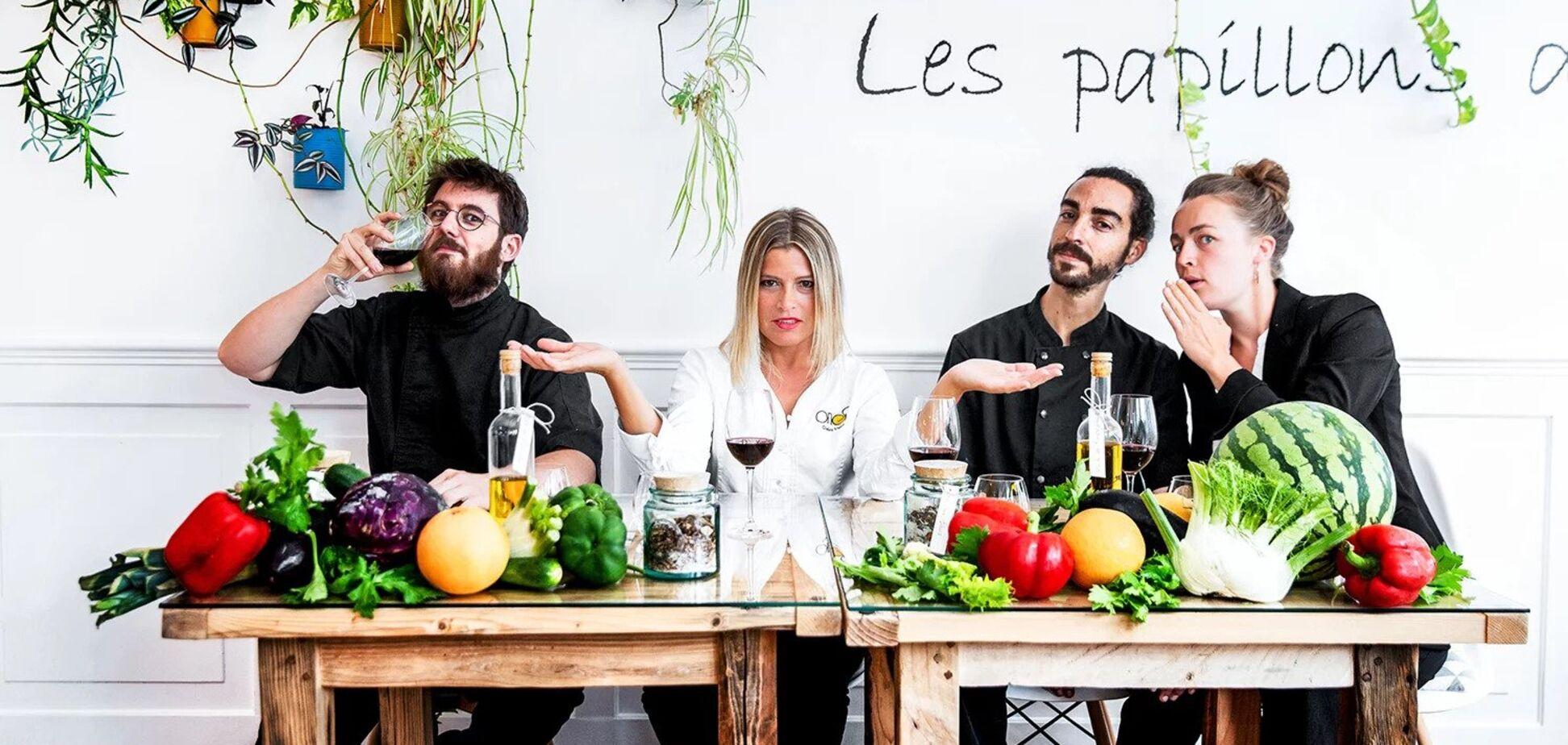 Во Франции звезду Мишлен впервые присудили веганскому ресторану